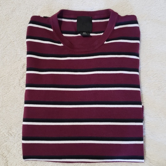 H&M Other - H&M Burgandy L/S Sweater (Unisex)